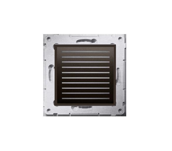 Głośnik do ramki brąz mat, metalizowany D05562.01/46
