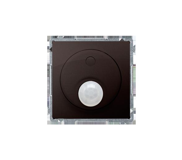Łącznik z czujnikiem ruchu z przekaźnikiem czekoladowy mat, metalizowany