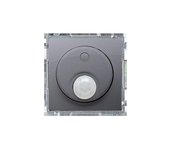 Łącznik z czujnikiem ruchu z przekaźnikiem srebrny mat, metalizowany