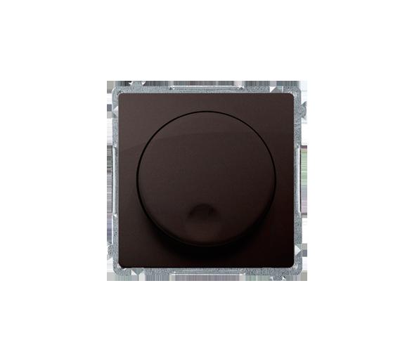 Ściemniacz naciskowo-obrotowy czekoladowy BMS9T.01/47