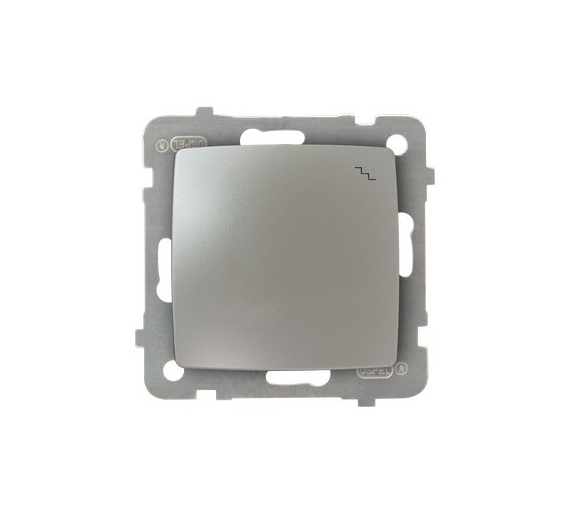 Łącznik schodowy srebrny perłowy Karo ŁP-3S/m/43