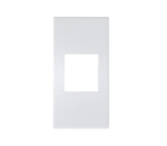 Obudowa gniazda typu Keystone biały ciepły  Ospel45 GKK-1/p/46