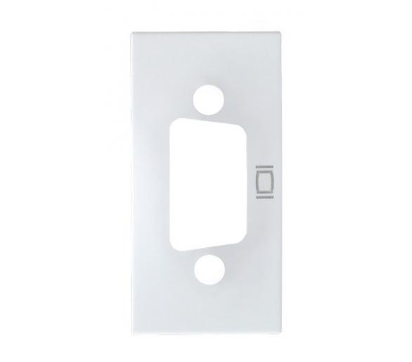 Obudowa gniazda VGA biały Ospel45 GKV-1/p/00