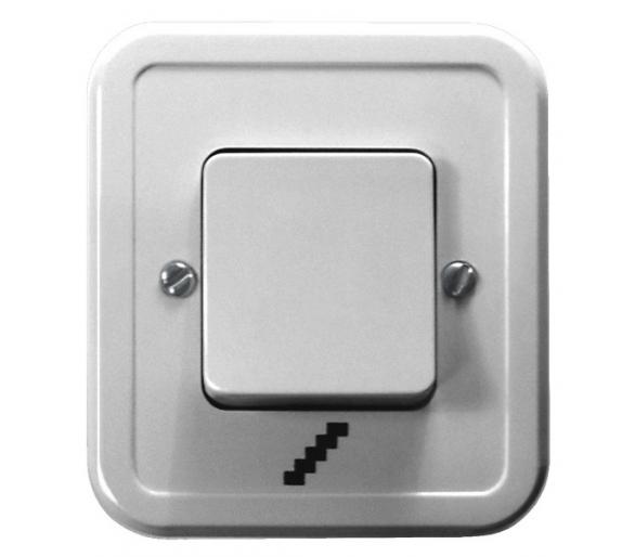Łącznik schodowy biały Pi ŁW-3P/00