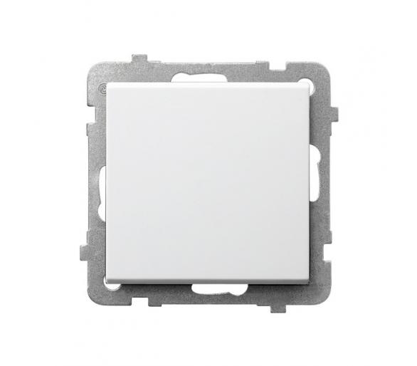 Łącznik jednobiegunowy biały Sonata ŁP-1R/m/00