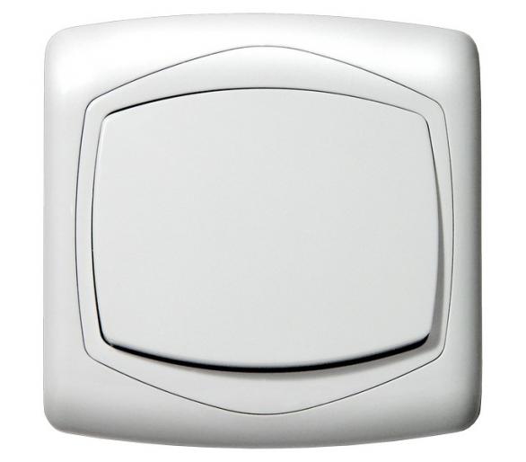 Łącznik jednobiegunowy biały Ton color system ŁP-1C/m/00