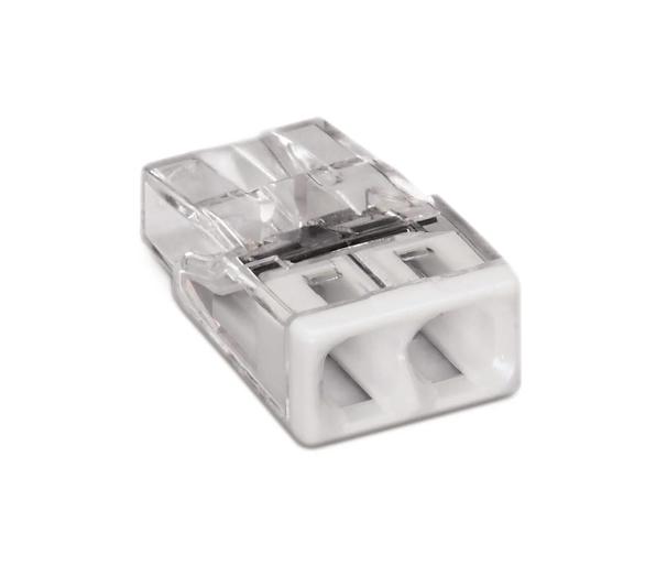 Szybkozłączka złączka WAGO COMPACT  0,5 - 2,5 mm²  2-przewodowa 2273-202