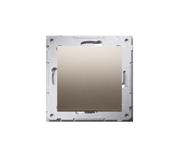 Łącznik uniwersalny - schodowy (moduł) 10AX 250V, szybkozłącza, złoty mat, metalizowany