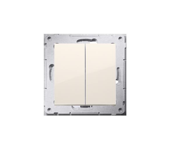 Łącznik świecznikowy do wersji IP44 (moduł) 10AX 250V, szybkozłącza, kremowy DW5B.01/41