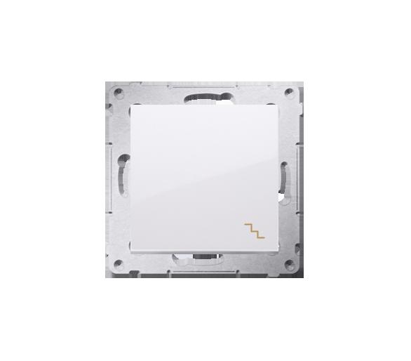 Łącznik schodowy (moduł) 16AX 250V, zaciski śrubowe, biały DW6A.01/11
