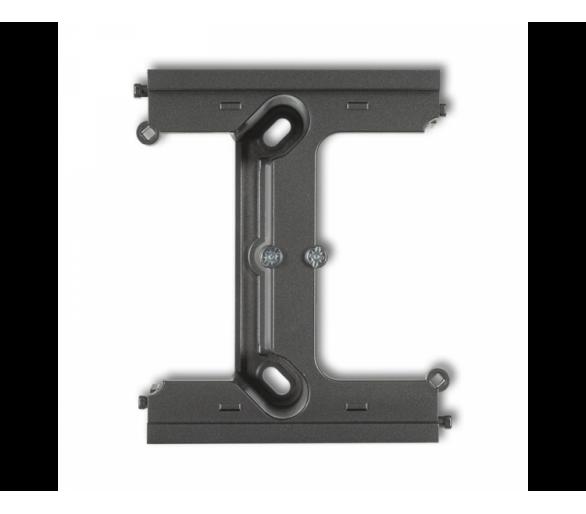 Moduł rozszerzający puszkę natynkową pojedynczą, składaną do ramek wielokrotnych DECO i MINI grafitowy 11DPU-2