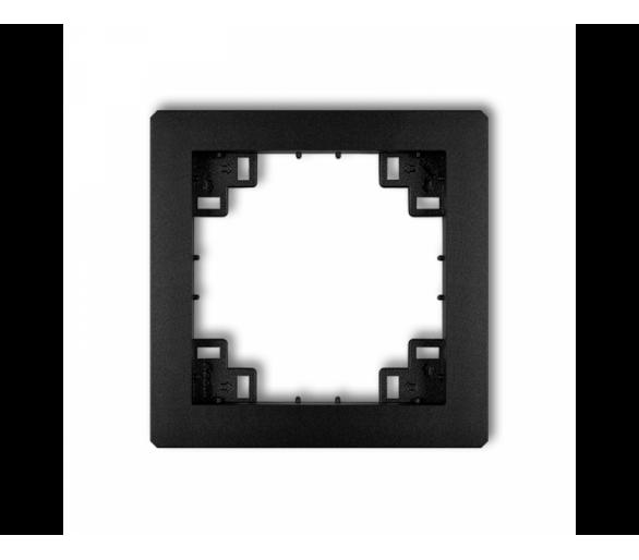 Ramka pośrednia czarny mat 12DRP