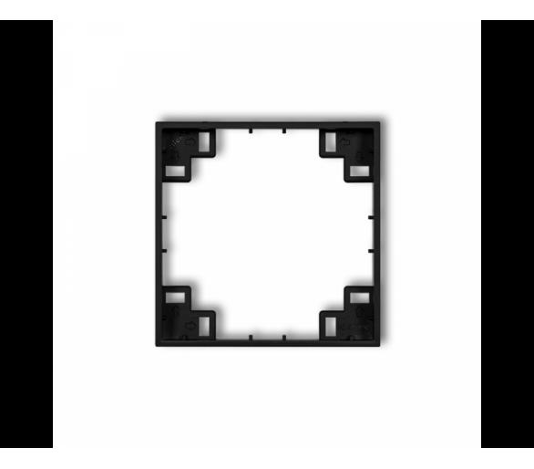 Ramka pośrednia czarny mat 12MRP-1