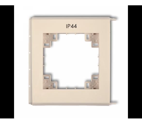 Ramka zewnętrzna do łączników IP44 beżowy 1FRH