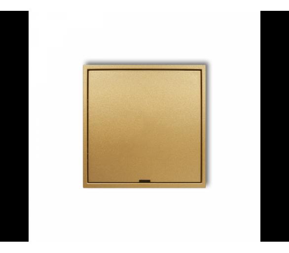 Ramka pośrednia z zaślepką  złoty 29MRPZ