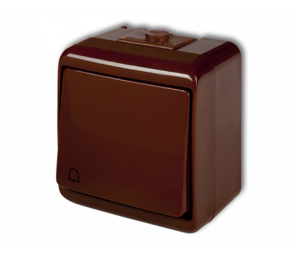 Łącznik zwierny dzwonek brązowy 4WHE-4