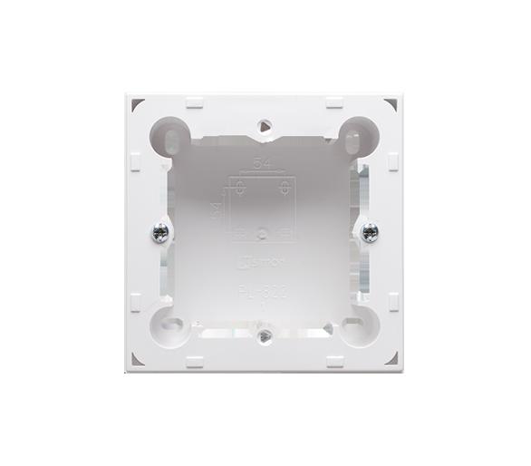 Puszka natynkowa 1-krotna biały  do serii BASIC i CLASSIC MPN1/11
