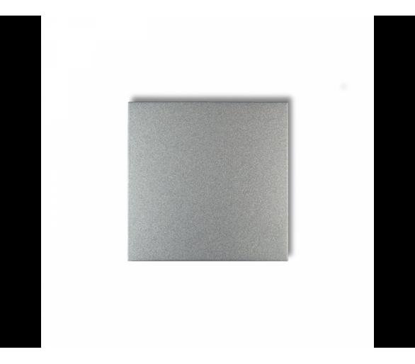 Klawisz pojedynczy do łączników DECO, FLEXI, MINI srebrny metalik 7DKL-1