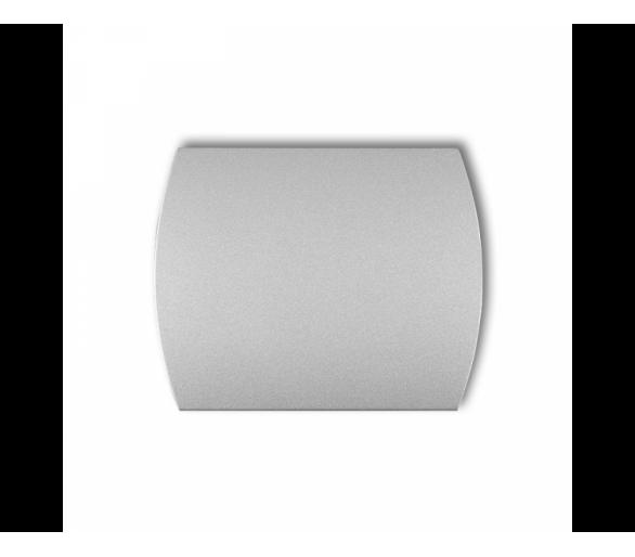 Klawisz pojedynczy do łączników TREND, LOGO srebrny metalik 7KL-1