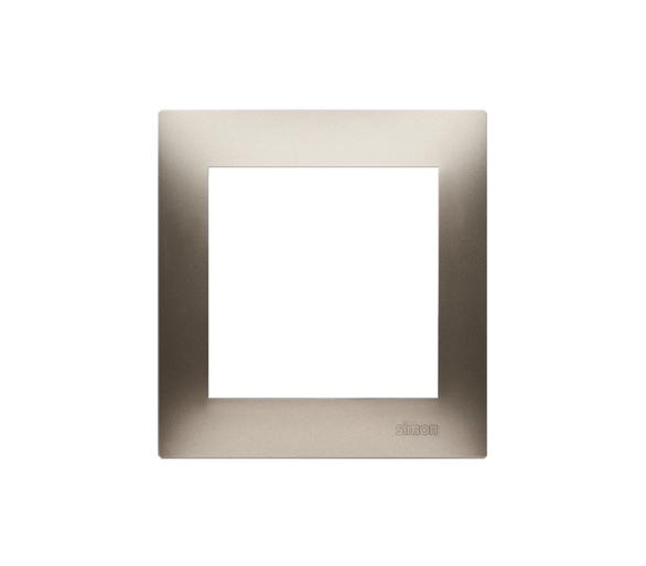 Ramka 1- krotna złoty mat, metalizowany
