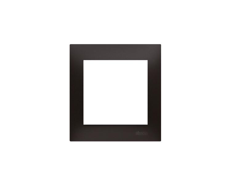 Ramka 1- krotna antracyt, metalizowany DR1/48
