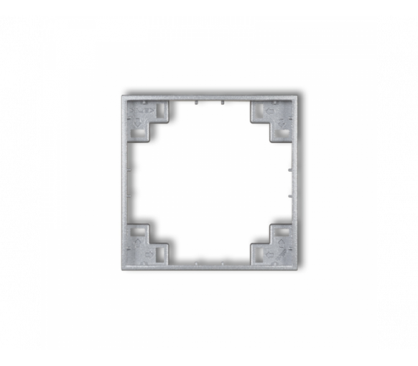 Ramka pośrednia srebrny metalik 7MRP-1