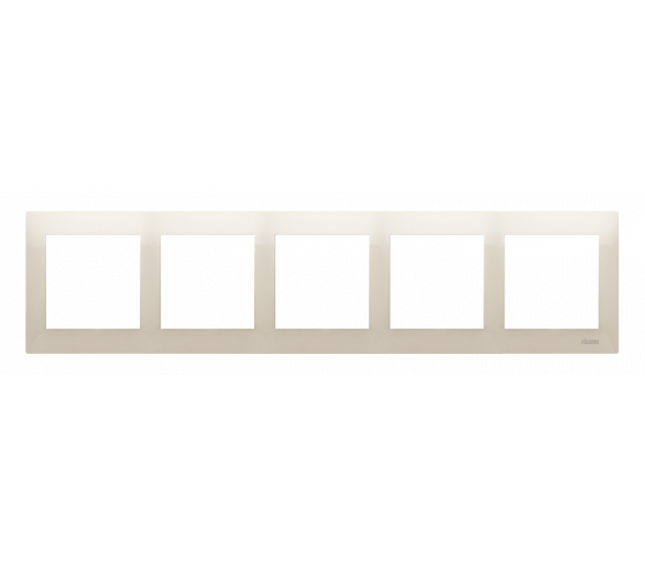 Ramka 5- krotna kremowy DR5/41