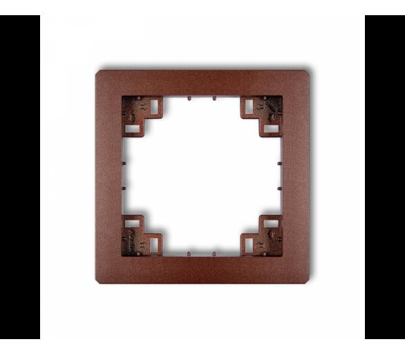 Ramka pośrednia brązowy metalik 9DRP
