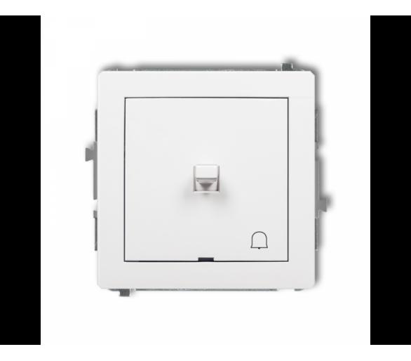 Mechanizm łącznika zwierny dzwonek w stylu amerykańskim biały DWPUS-4