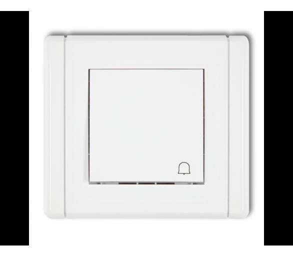 Łącznik zwierny dzwonek  biały FWP-4