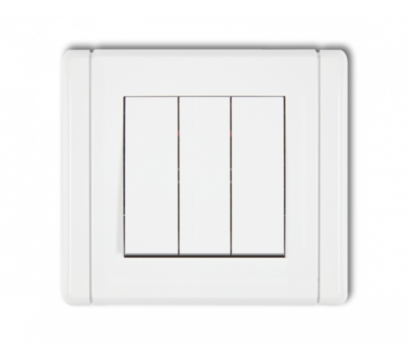 Łącznik potrójny biały FWP-7