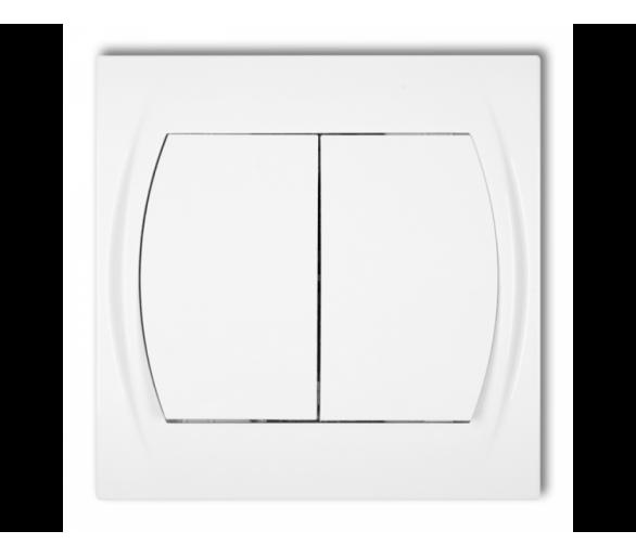 Łącznik świecznikowy biały LWP-2