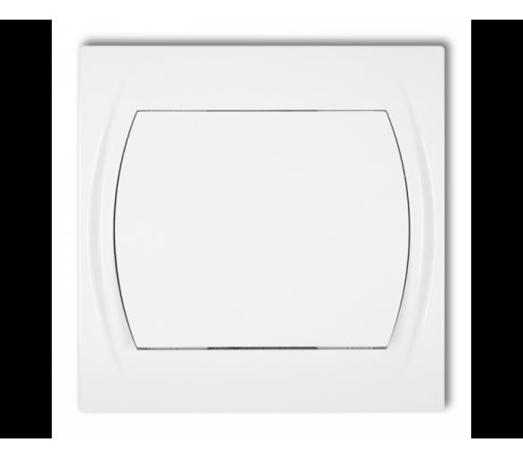 Łącznik schodowy (jeden klawisz bez piktogramu) biały LWP-3.1