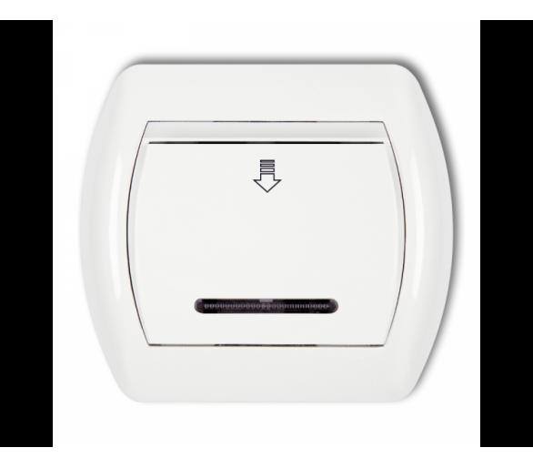 Łącznik hotelowy biały SH-1