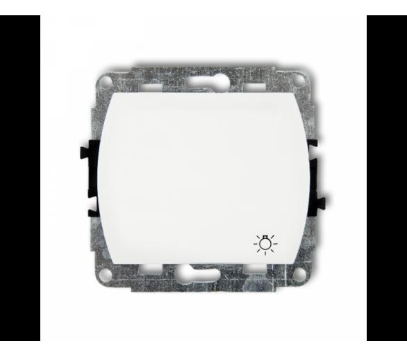 Mechanizm łącznika zwierny światło podświetlanego biały WP-5L