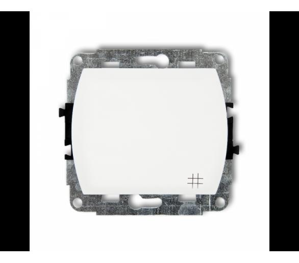 Mechanizm łącznika krzyżowego podświetlanego biały WP-6L