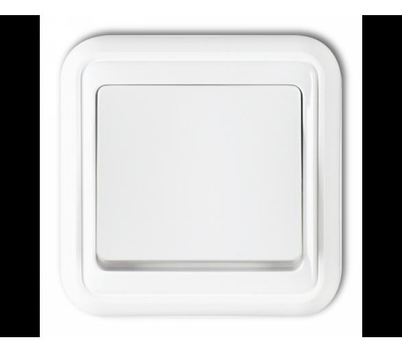 Łącznik jednobiegunowy biały WPH-1
