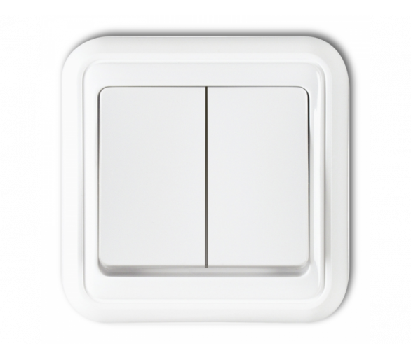 Łącznik świecznikowy biały WPH-2