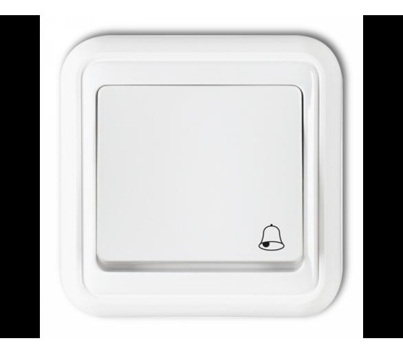 Łącznik zwierny dzwonek biały WPH-4