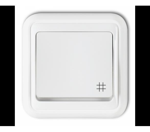 Łącznik krzyżowy biały WPH-6