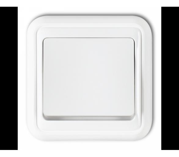 Łącznik jednobiegunowy biały WPT-1