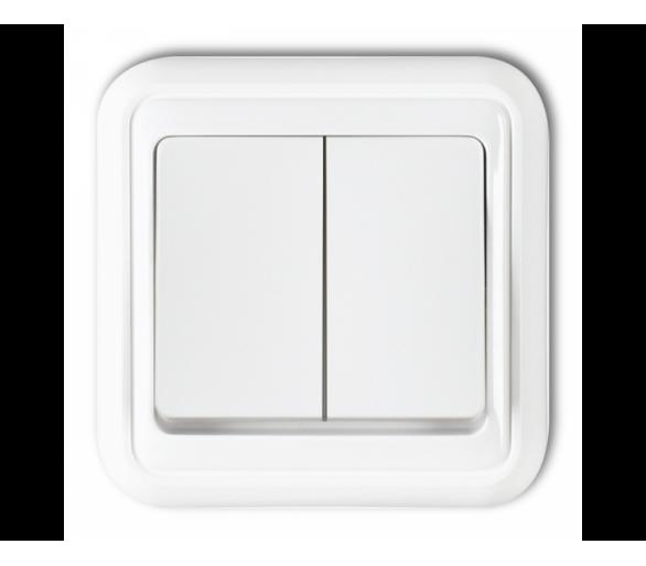 Łącznik świecznikowy biały WPT-2