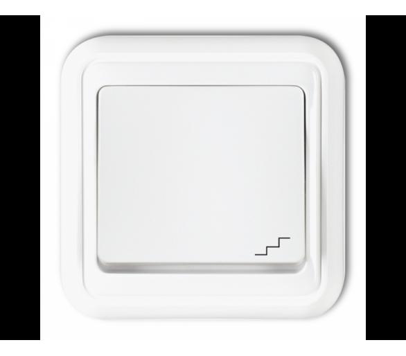 Łącznik schodowy biały WPT-3