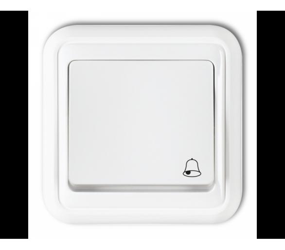 Łącznik zwierny dzwonek biały WPT-4