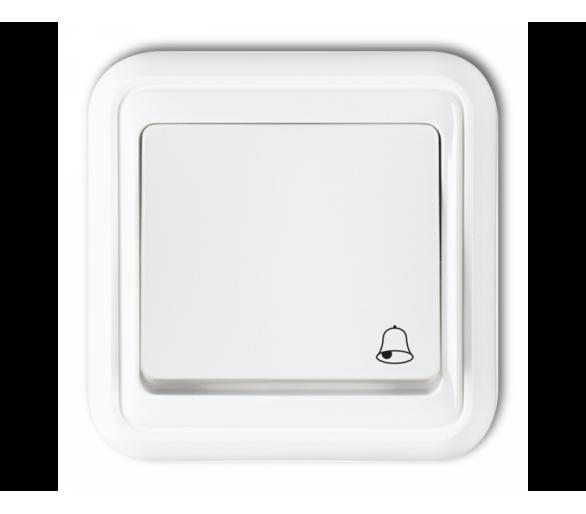 Łącznik zwierny dzwonek podświetlany biały WPT-4L