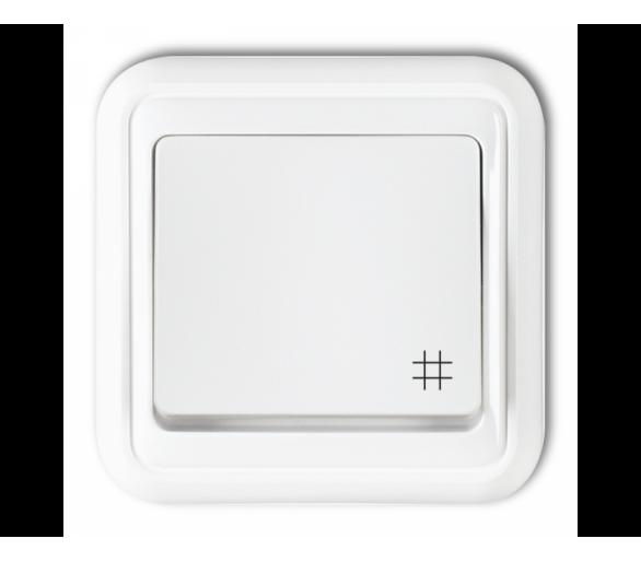 Łącznik krzyżowy biały WPT-6