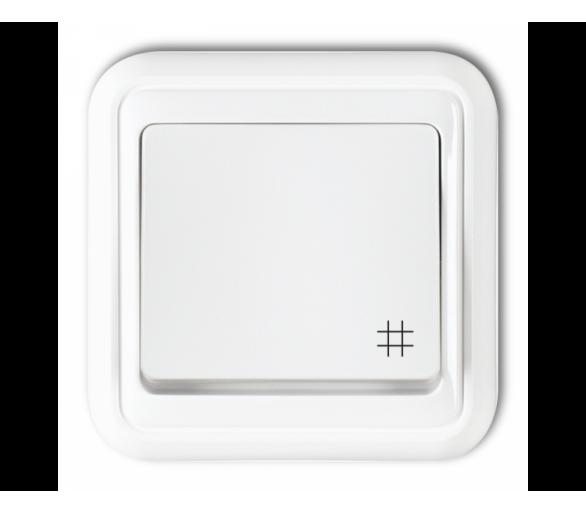 Łącznik krzyżowy podświetlany biały WPT-6L