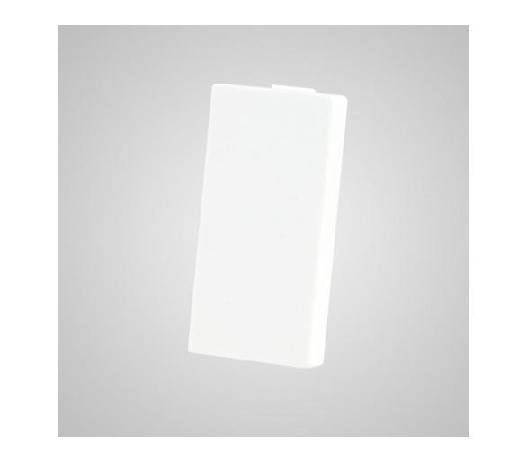 Moduł 1/2, zaślepka, biała TMZASw