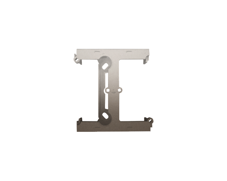 Puszka natynkowa – element rozszerzający puszkę pojedynczą składaną do ramek wielokrotnych złoty mat, metalizowany DSH/44