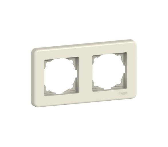 Ramka 2-krotna, kremowa LNA5800223